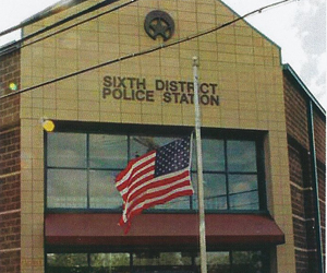 The NOPD Sixth District station.