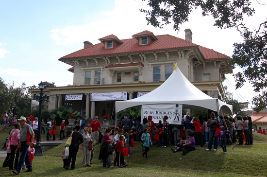 Milton H. Latter Memorial Library during the First Annual Children's Book Festival in 2010. (UptownMessenger.com file photo by Sabree Hill)