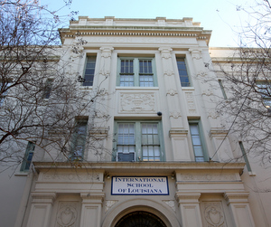 The International School of Louisiana'a Camp Street campus.