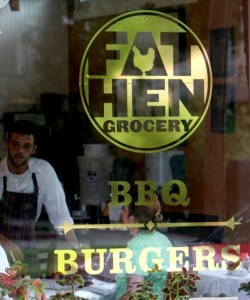 Fat Hen Grocery, photographed around the time of its opening in summer of 2011.  (Sabree Hill, UptownMessenger.com)