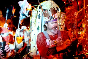 The Krewe of OAK rolls in 2011. (UptownMessenger.com file photo by Sabree Hill)