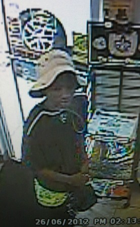 A photo of the suspect in Tuesday's carjacking. (via NOPD)