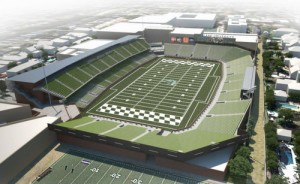 A rendering of the Tulane Stadium released in September 2012. (UptownMessenger.com file image)
