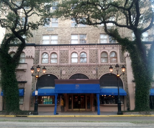 The Pontchartrain Hotel on St. Charles Avenue, photographed in January 2013. (UptownMessenger.com file photo)