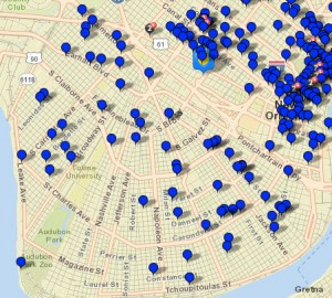 Stay Safe Crime Map of New Orleans Download Books for Free PDF