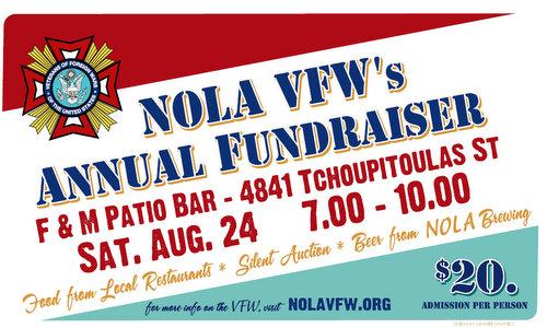 NOLA VFW fundraiser