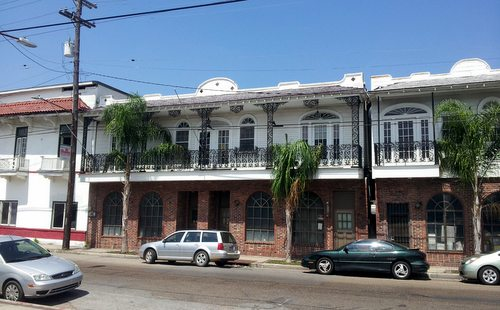 The former Frank's Steakhouse site on Freret Street. (Robert Morris, UptownMessenger.com)