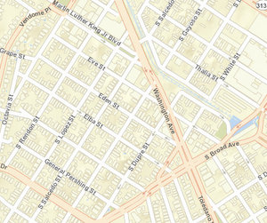 The shooting Sunday afternoon at Washington and Eve has not been loaded into the NOPD crime maps. (via NOPD)