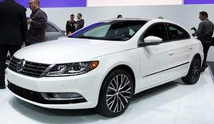 A showroom model of a 2013 Volkswagen CC Sport, for illustration purposes (via NOPD)