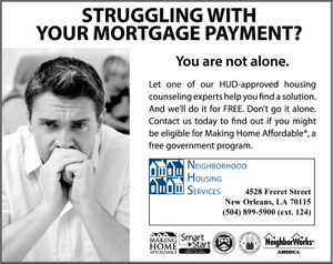 Struggling With Your Mortgage Payment?
