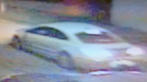 Surveillance image of a car believed to have been used in the shooting death of an 11-year-old girl in west-Carrollton. (via NOPD)