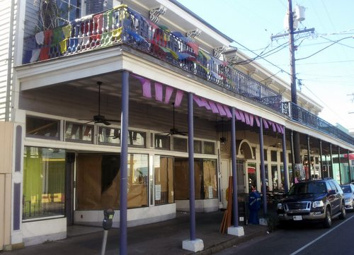 "The planned location of the ""Red Dog Diner"" next to Rum House on Magazine Street. (Robert Morris, UptownMessenger.com)"