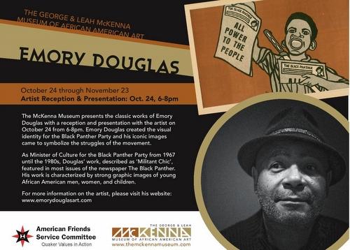 Emory Douglas Postcard