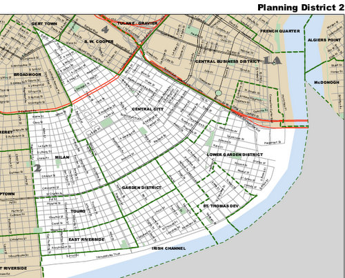 Planning District 2 (via nola.gov)