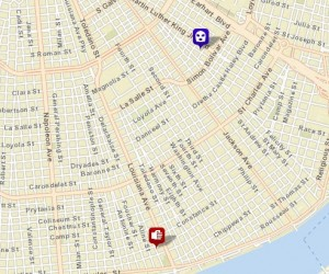 Robbery in Central City, stabbing on Delachaise Street. (via NOPD)