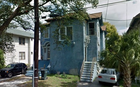 The profitably-departed house formerly at 2509 Napoleon. (via Google maps)