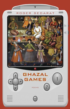 "The ""Ghazal Games"" book cover by Roger Sedarat (via Tulane University)"