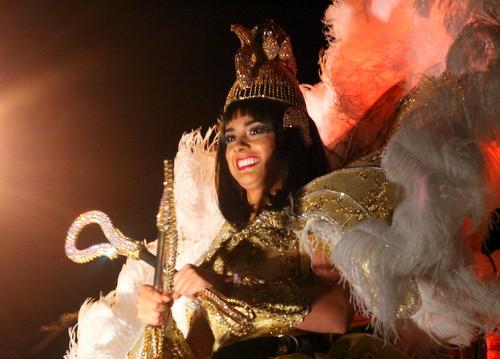 Alexandra Kathryn Breland reigned as Queen Cleopatra XLI. (Robert Morris, UptownMessenger.com)