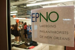 Emerging Philanthropists of New Orleans (EPNO) is an initiative to engage young leaders in New Orleans in philanthropy. (via www.facebook.com/EPNOl)