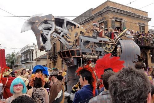 The Krewe of Ragnarok in 2012. (photo via Loyola University)