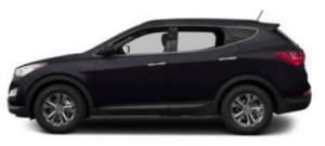 Image of a 2013 Hyundai Santa Fe (via NOPD)