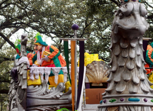 "The Rex ""Royal Barge"" float. (Robert Morris, UptownMessenger.com)"