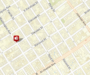 Shooting in Central City. This morning's robbery has not been posted to the NOPD's public maps yet.
