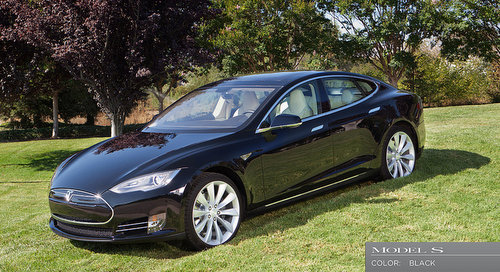 The Tesla Model S (via teslamotors.com)