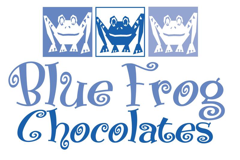 BFC blue frog logo