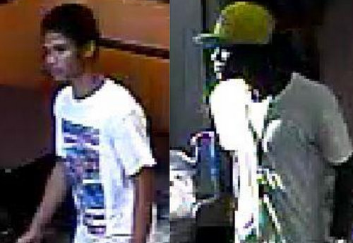 "Suspects known by the nicknames of ""Red"" (left) and ""Nugget."" (image via NOPD)"