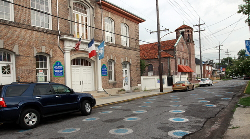 Ecole Bilingue on General Pershing Street. (Robert Morris, UptownMessenger.com)