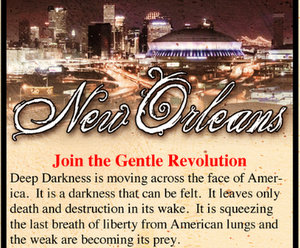 "Operation Save America is bringing its ""Gentle Revolution"" to New Orleans, according to its website. (via operationsaveamerica.org)"