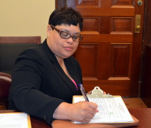 Niki Roberts, who is challenging Judge Yolanda King. (Photo by Danae Columbus for UptownMessenger.com)