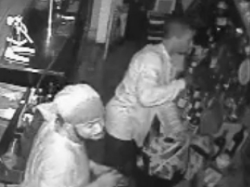 Still image from the surveillance video (via NOPD)