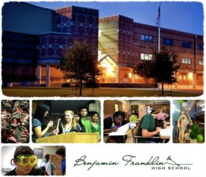 Franklin collage