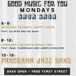 Gasa Gasa Monday Happy Hour