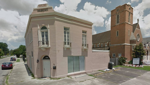 The old Hubert building at 4401 South Broad Street. (via Google maps)