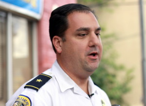 NOPD Second District Commander Paul Noel, photographed in October 2014. (UptownMessenger.com file photo by Robert Morris)