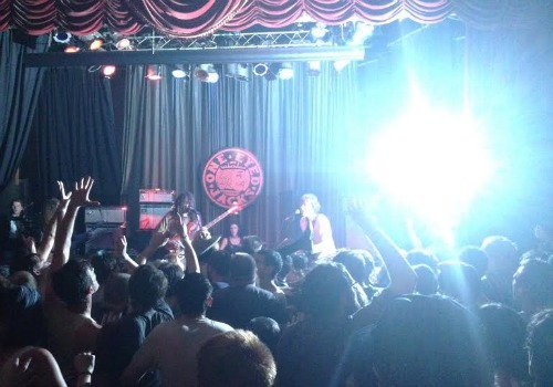 Ty Segall plays to a sold out crowd at One-Eyed Jacks on Sept 6, 2014. (Jean-Paul Villere, Uptown Messenger).