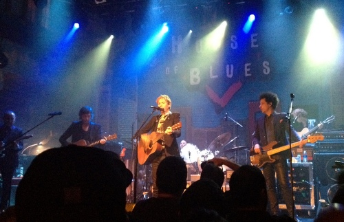 All eyes were on Beck at his sold out performance at the House of Blue in New Orleans. (photo by Jean-Paul Villere)