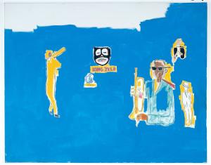 Jean-Michel Basquiat King Zulu, 1986, Museu d'Art Contemporani de Barcelona (MACBA), Government of Catalonia Art Fund. Former Salvador Riera Collection. © The Estate of Jean-Michel Basquiat / ADAGP, Paris / ARS, New York 2014