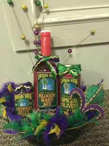 Baskets of Blessings - Mardi Gras Party Basket
