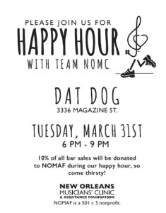 Dat Dog happy hour