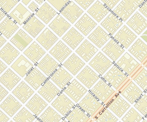 The 8400 block of Cohn is between Cambronne and Joliet. (map via NOPD)