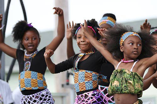 The Nairobi Youth, who performed at the 2015 Freret Street Festival, will return to the new Loyola University stage on Saturday, April 2. (UptownMessenger.com file photo by Zach Brien)