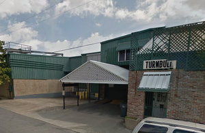 The Turnbull Bakery entrance on First Street. (via Google Maps)