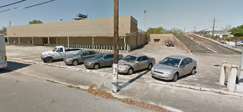 The former Robert site in the 1300 block of Annunciation. (April 2014 image via Google maps)