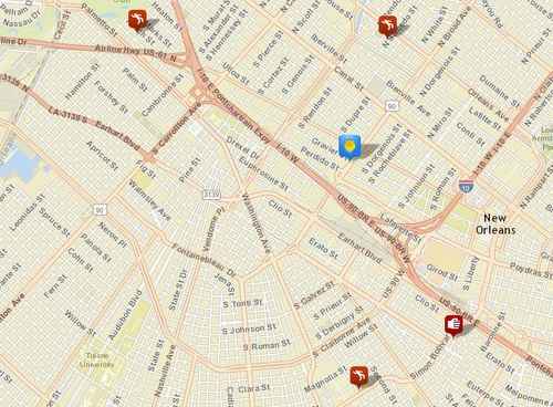 Four shootings -- three fatal -- in Hollygrove, Central City and Mid-City (via NOPD)