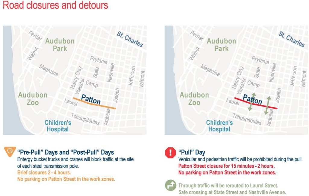 (map via Entergy New Orleans)