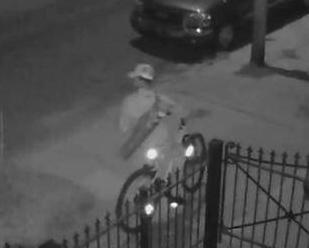 Surveillance photo provided to Uptown Messenger.